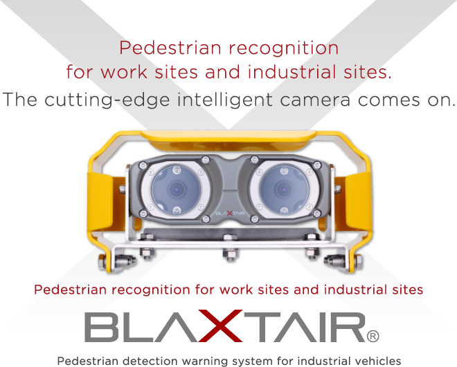 BLAXTAIR For construction equipment