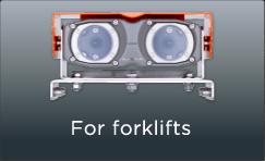 For forklifts